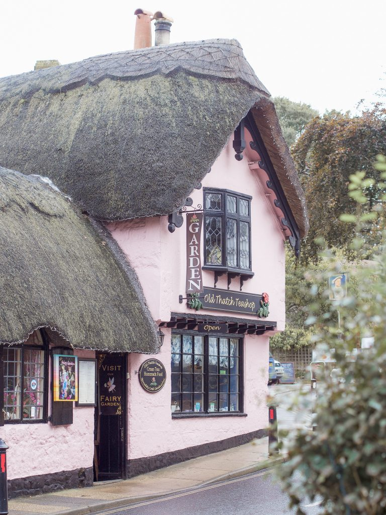 old thatch teashop shanklin isle of wight