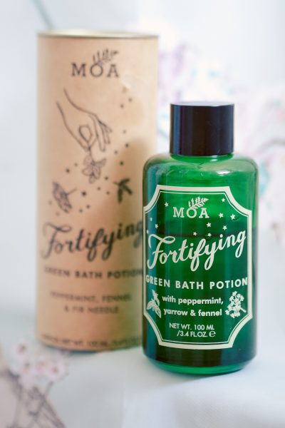 MOA - MAGIC ORGANIC APOTHECARY Fortifying Green Bath Potion